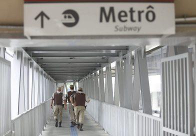 Polícia mata dois homens em troca de tiros na estação do metrô da Bonocô