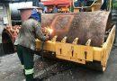 PF acha 1,2 tonelada de cocaína em rolos compressores no Porto de Santos