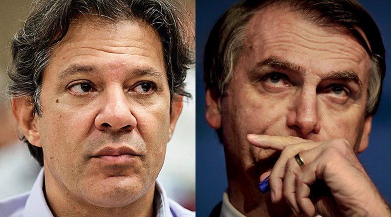Diante de recusa de Bolsonaro de ir a debate, Globo não chamará Haddad