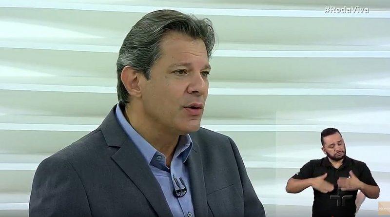 Não existe perdão à corrupção sem que paguem pelo que fizeram, diz Haddad