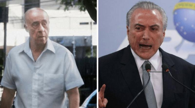 PF indicia Temer, filha, coronel Lima e mais oito em inquérito dos Portos